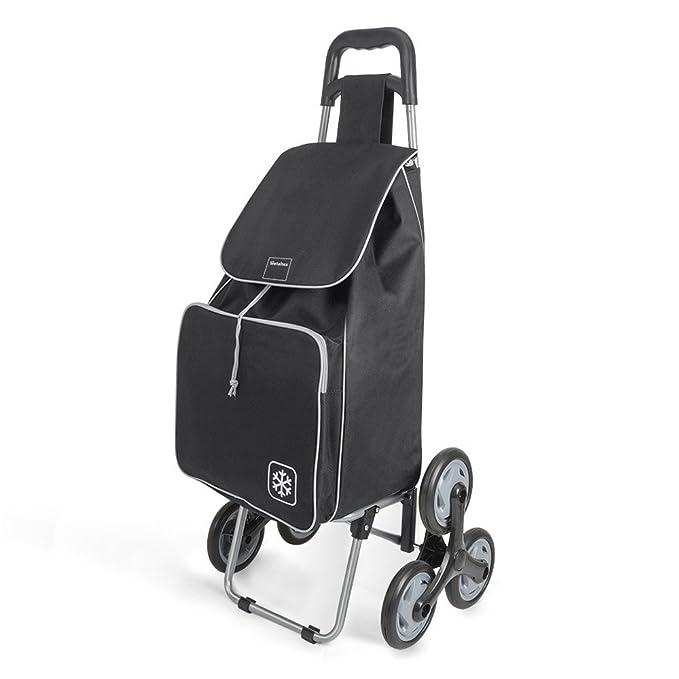 Amazon.com: Metaltex Peony - Carro de la compra con 6 ruedas ...
