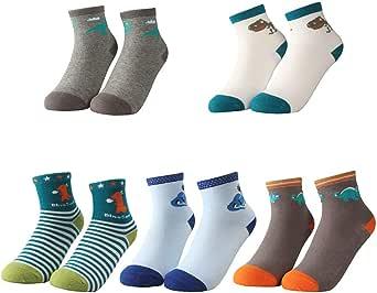 TRUEHAN 3 Pack Unisex Athletic Crew Cushion Sport Socks for Boy Girl Winter Thick Cotton Socks