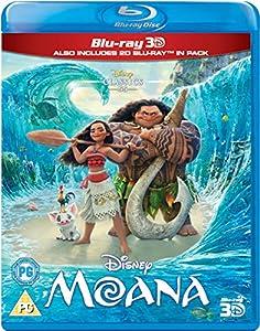 Moana (3D + 2D) - Walt Disney Movie and Soundtrack Bundling - Blu-ray and CD