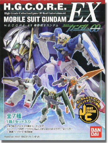 Gundam 00: H.G.C.O.R.E. EX Trading Figure Box of 7