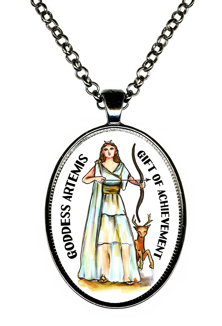 Amazon Guided By The Goddess Artemis Gift Of Achievement Huge