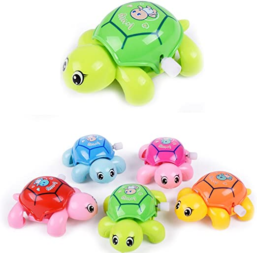 Educational Toys Infant Turtles lithing Baby Kids Crawling Wind Up Toy Music