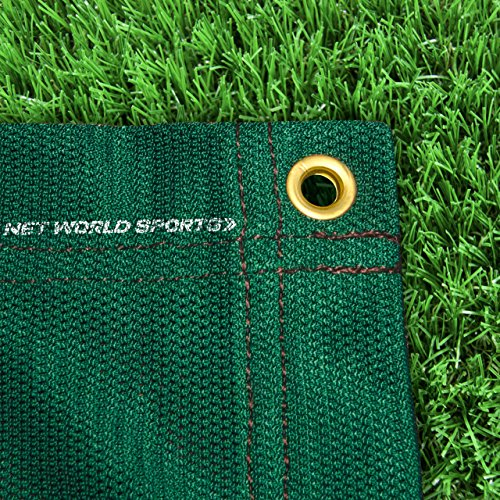 Replacement 10ft X 10ft Archery Grade Golf Impact Panel Netting (Green) – Super Strong Nets Guaranteed To Protect Your Golf Practice Cage From Damage [Net World Sports] by Net World Sports (Image #8)