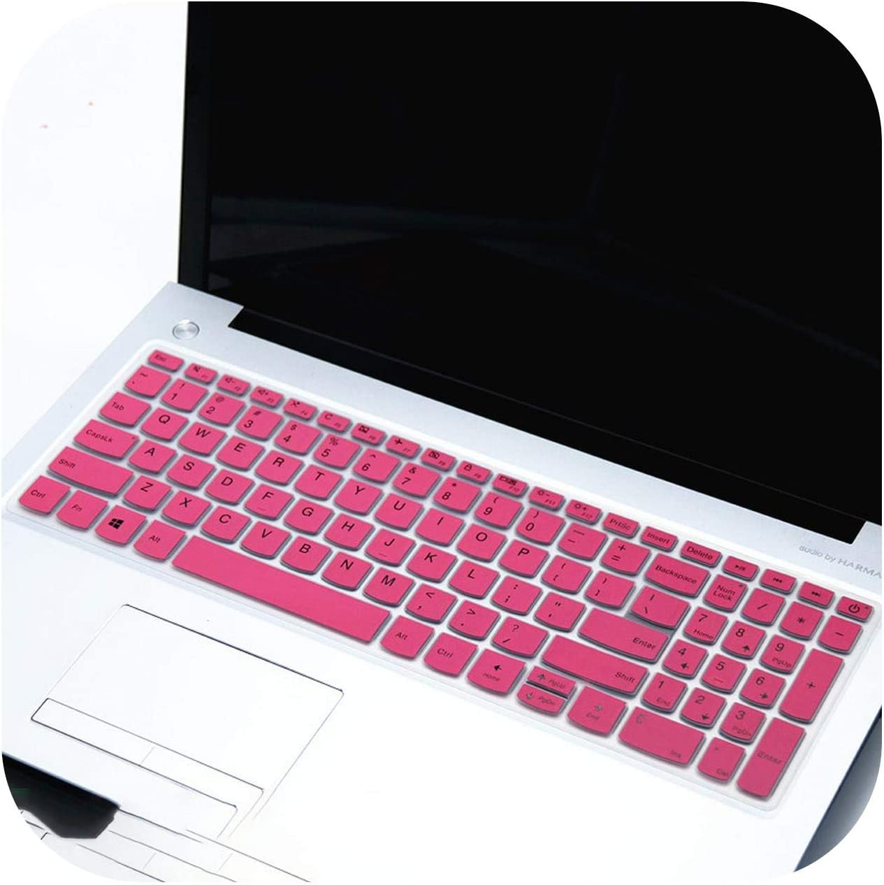 15 Intel 15 AMD Laptop Keyboard Cover Skin for Lenovo IdeaPad S145 15 15.6 inch S145 15IWL s145 15ast s145 15 2019-clear