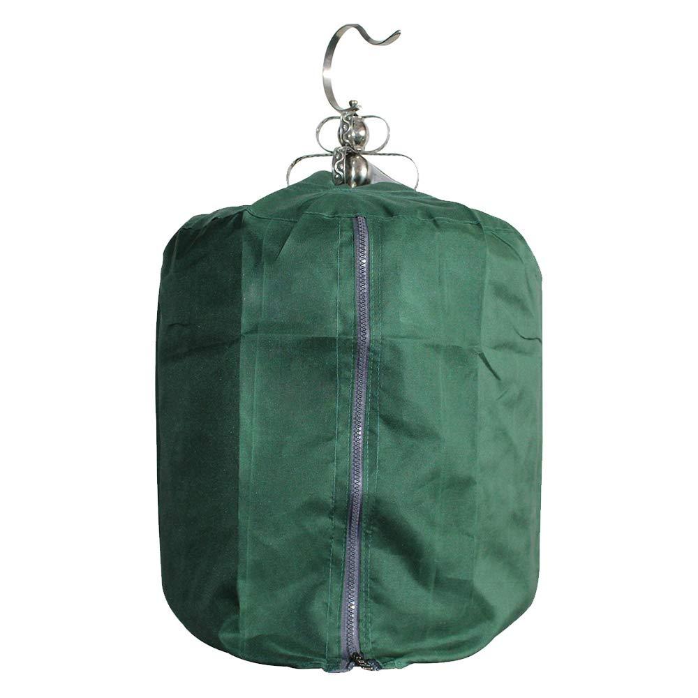 KEBY cobertor Redondo para Jaula de pájaros con Forma de cúpula ...