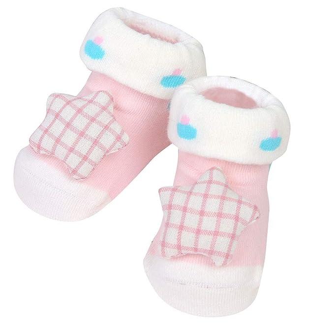 Amazon.com: Kasien - Calcetines para bebé, para recién ...