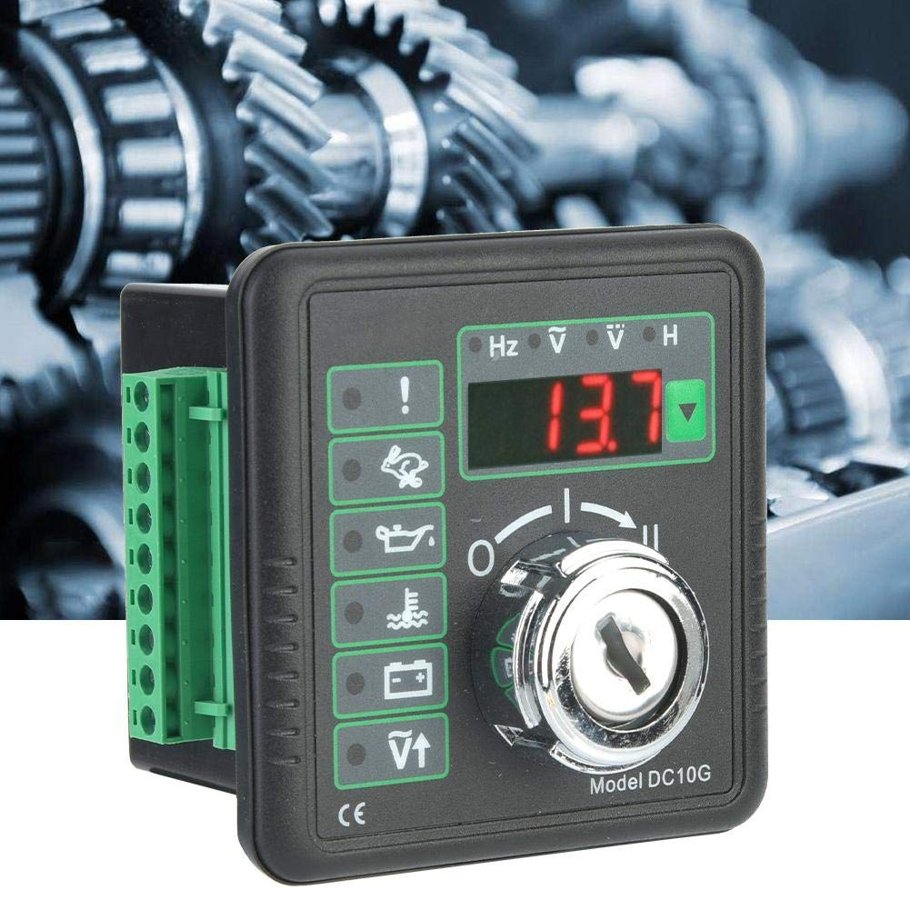 Generator Controller Module DC10G Manual and Automatic Remote Start Control Panel Generator Module for Manually Starting and Stopping The Engine