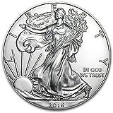 2016年 アメリカ イーグル 1$ ウオーキング・リバティ 1オンス 銀貨 インゴット 31.1g シルバー コイン 純銀 ドル 高級アクリルカプセル・クリアーケース付き