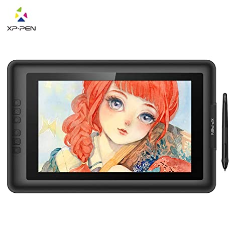 XP-Pen Artist13 3 V2 IPS 13 3-Inch Drawing Monitor Pen Display Graphics  Drawing Monitor with HDMI to Mac Cable and Anti-fouling Glove (8192 Level  Pen
