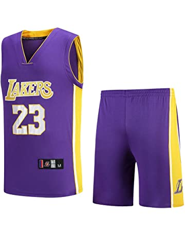 NBA Lakers Jersey No. 23 James Male Basketball Clothes Suit 9aa55206f0