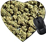 weed mouse pad - MSD Mousepad Heart Shaped Mouse Pads/Mat design 25019896 Weed Medical Grunge Detail