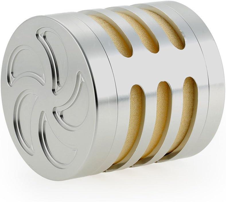 Aluminium Luftfilter Rc Nitro Auto Luftfilter Mit Schwamm Für 1 Rc 5 Maßstab Hpi Baja Km Silber Auto