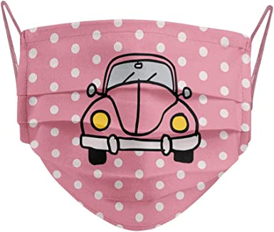 Cencibel Smart Casual Mascarilla coche Beetle rosa o escarabajo Callate La Boca: Amazon.es: Ropa y accesorios