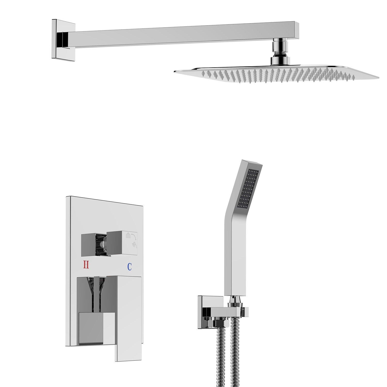 SR SUN RISE SRSH-F5043 Bathroom Luxury Rain Mixer Combo Set Wall ...