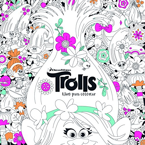 Trolls. Libro para colorear / Trolls. It's Color Time! (DreamWorks) (Spanish Edition)