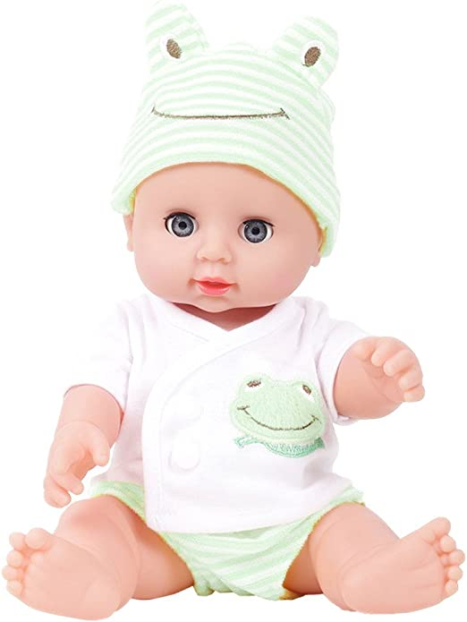 11.8 inch Vinyl Newborn Baby Girl Doll Toy for Kids Soft Vinyl Silicone Gift