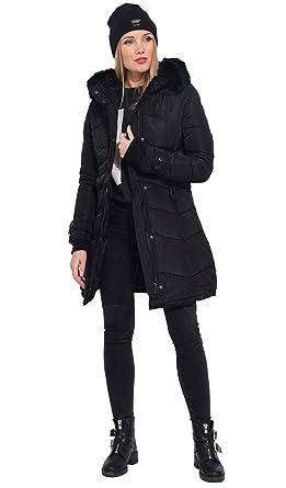 À Longue FemmeVêtements Accessoires Doudoune Et Cm Capuche exrBoCd