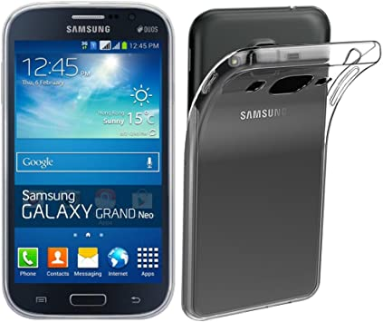 ebestStar - Coque Compatible avec Samsung Grand Plus Galaxy GT-i9060I, Grand Lite Etui Housse Silicone Gel Anti-Choc Ultra Fine Invisible, Transparent ...