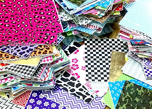 grab-bag-of-mixed-pattern-craft-vinyl-8-6x6-pieces-perfect-for-vinyl-cutters