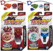 Beyblade Shogun Steel Beybattle Thief Phoenix SS-09 Top & Guardian Leviathan SS-10 Top Bu