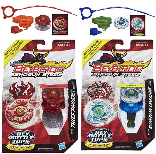 Beyblade Shogun Steel Beybattle Thief Phoenix SS-09 Top...