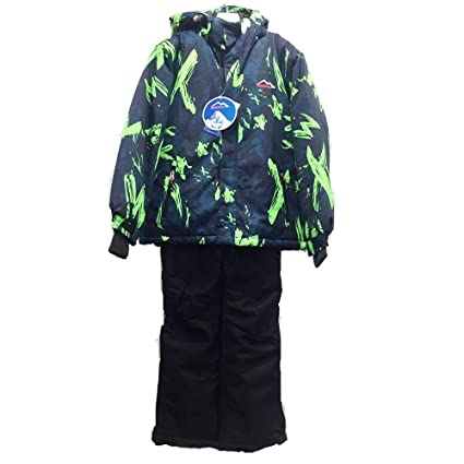 Yzibei Traje de Esqui Traje de esquí de algodón para niños ...