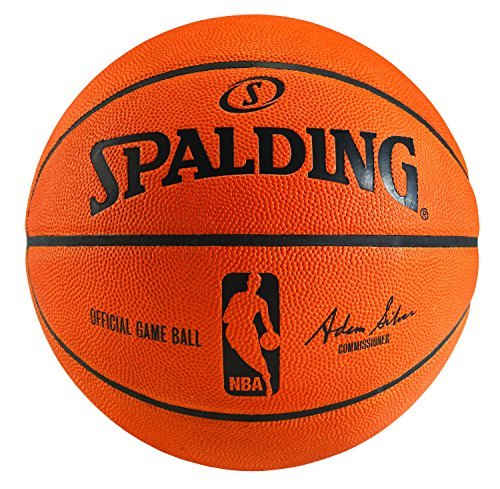 Spalding Official Leather Nba Game - Spalding NBA Official Game Ball Basketball (2014) with Retail Packaging