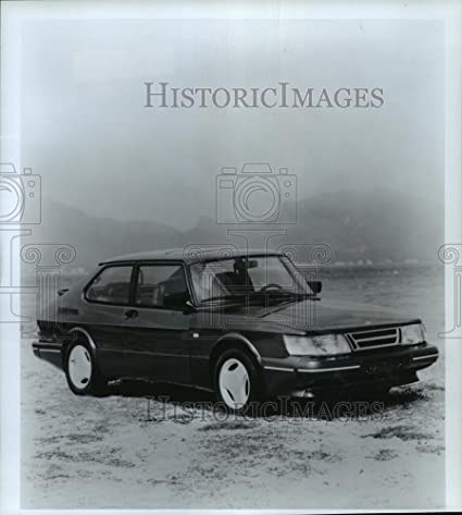 1987 Press Photo SAAB 900 SPG Turbo - not00007