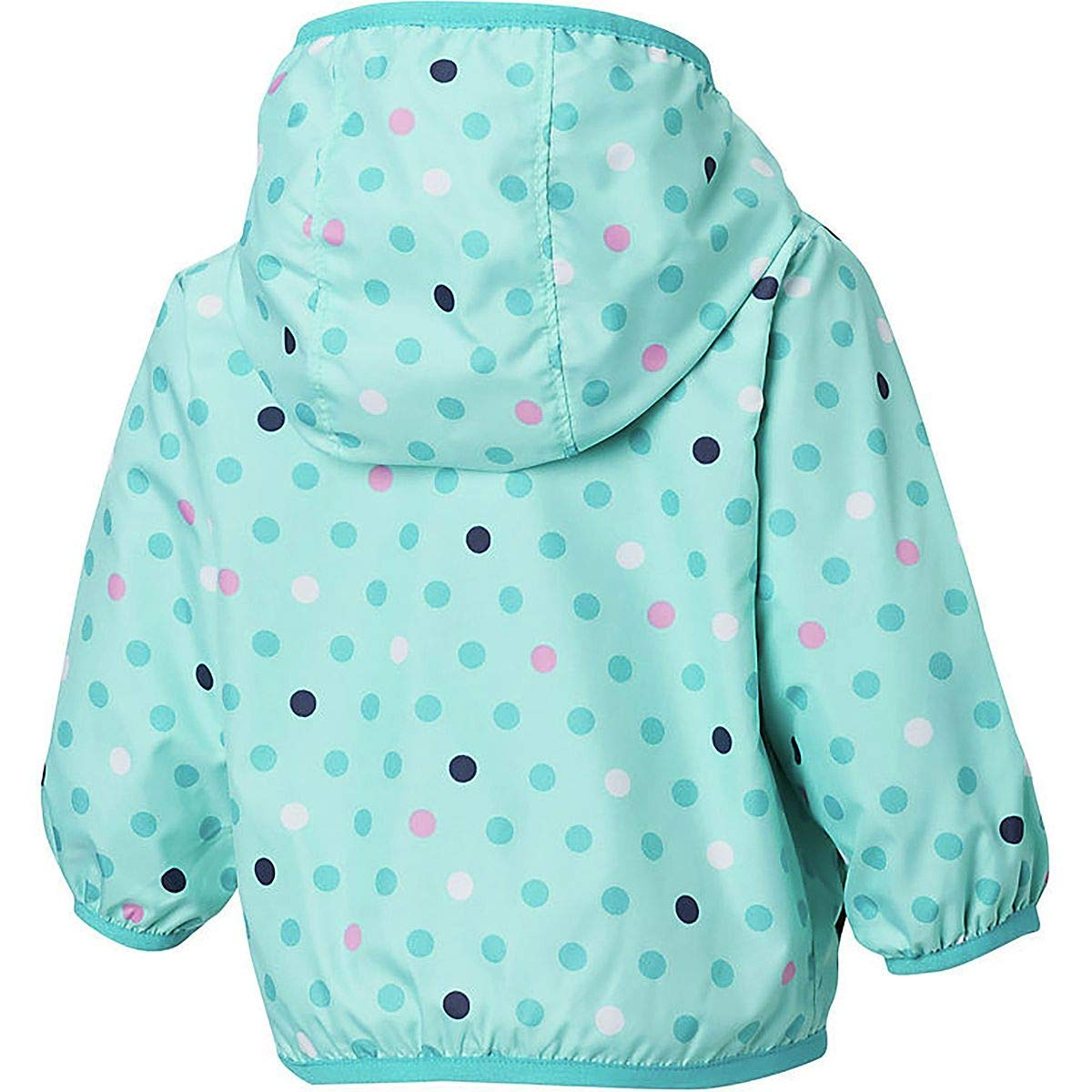 Infant//Toddler Gulf Stream Polkadot 3T Columbia Kids Baby Girls Mini Pixel Grabber/¿ II Wind Jacket