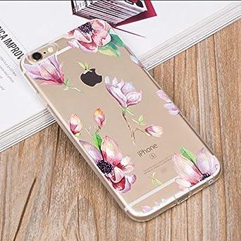 iPhone 6//6s 4.7 Funny Design Pattern Ultra Slim Super Clear Soft TPU Anti-Shock Protective Cover