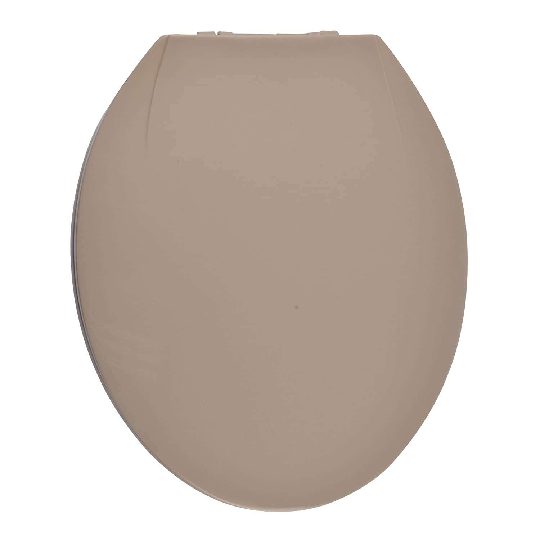 Douceur d' interno 6sto099ta–Sedile WC plastica tortora 51x 37x 5cm Codico