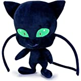 Miraculous Ladybug Plush, Soft toys,Original,3 Different Characters Available! (Plagg (Black Cat))