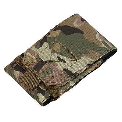 Asiproper 11,9cm extérieur Crochet de boucle de ceinture Sac pochette Coque pour téléphone portable