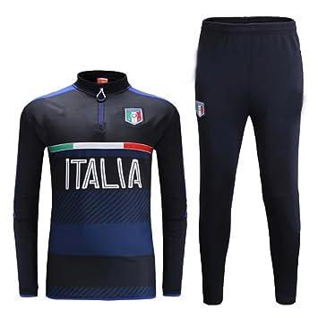 MYZUK-JS8W 2016 2017 Italia Equipo de Entrenamiento de fútbol Fútbol Conjuntos Jersey Camisas en