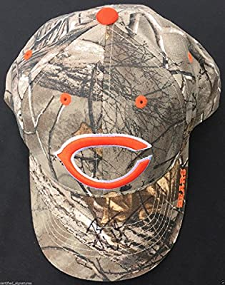 Brian Urlacher Signed Chicago Bears Camo Hat New Mexico Lobos Pro Bowl Proof K1
