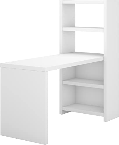 Office by kathy ireland Echo 56W Craft Table in Pure White