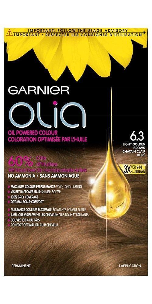 Garnier Olia Haircolour In 7.22 Intense Rose Powered By 60 Percent Oil for Ammonia Free Bold Haircolour, 0.287 Kg