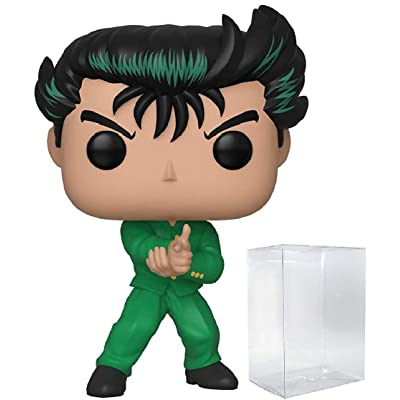 Funko Animation: Yu Yu Hakusho - Yusuke Pop! Vinyl Figure (Includes Compatible Pop Box Protector Case): Toys & Games