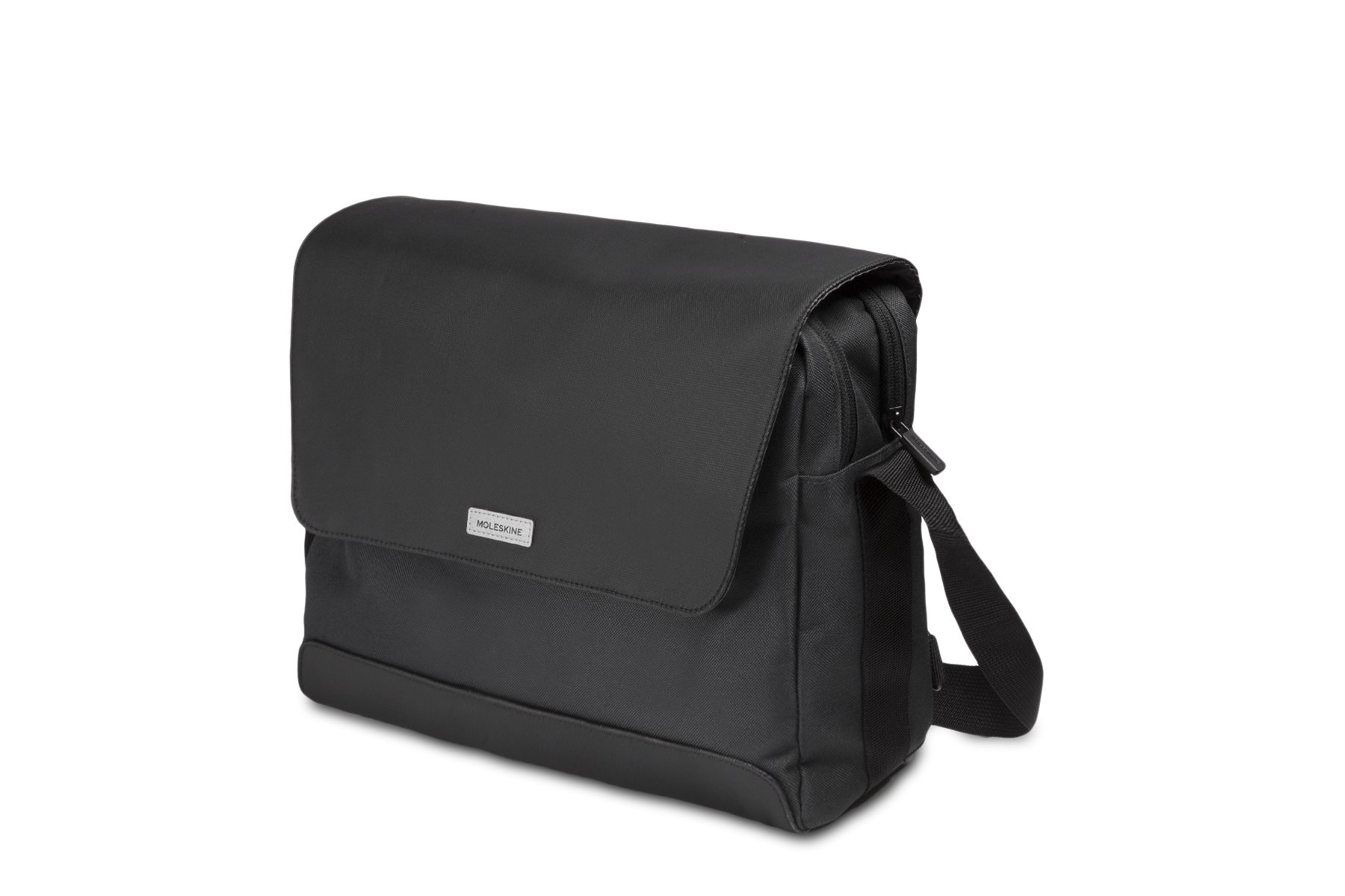 Moleskine City Travel Messenger Bag, Black