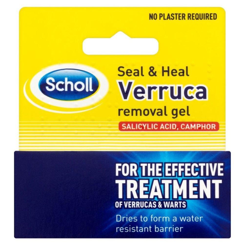 Scholl Seal and Heal Verruca Remover Gel (10ml) - Pack of 2 Grocery