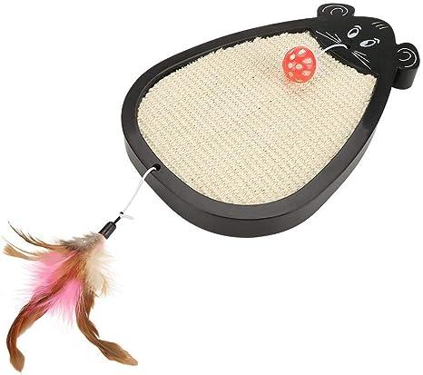 Fdit Pet - Alfombrilla de rascador para gatos con forma de ratón y ...