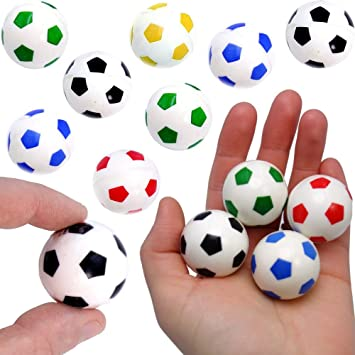 German Trendseller 6 x pelotas de fútbol ┃flummi ...