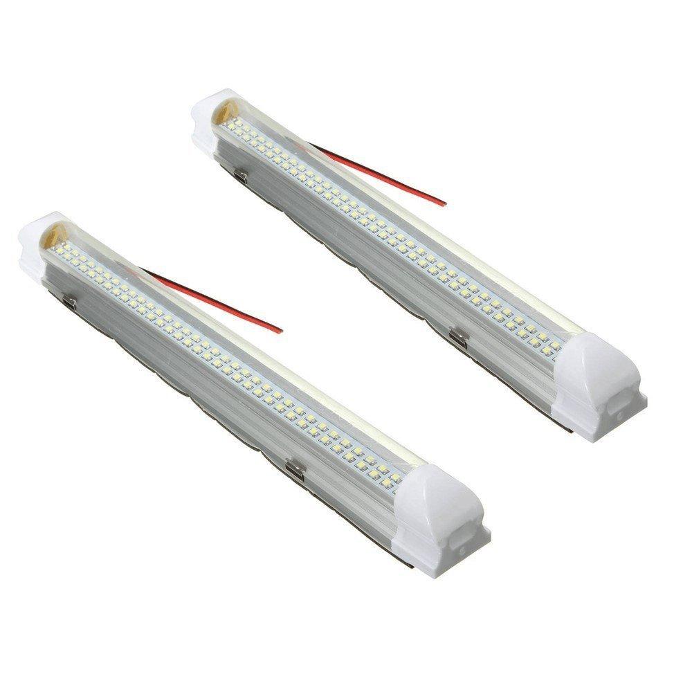 Lumineux 18/LED 12/V Lumi/ère int/érieure Interrupteur on//off lampe de voiture caravane Bateau camping-car camping-car Camion