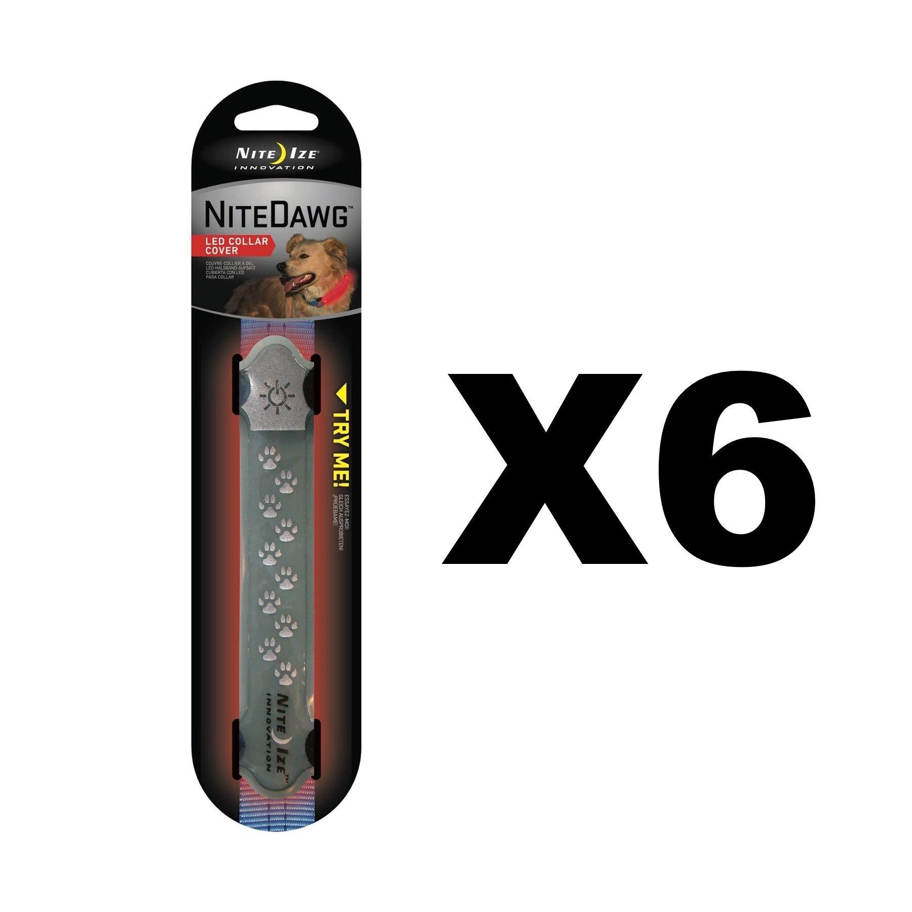 Nite Ize Inc 6 Packs GRY LED Collar Cover by Nite Ize