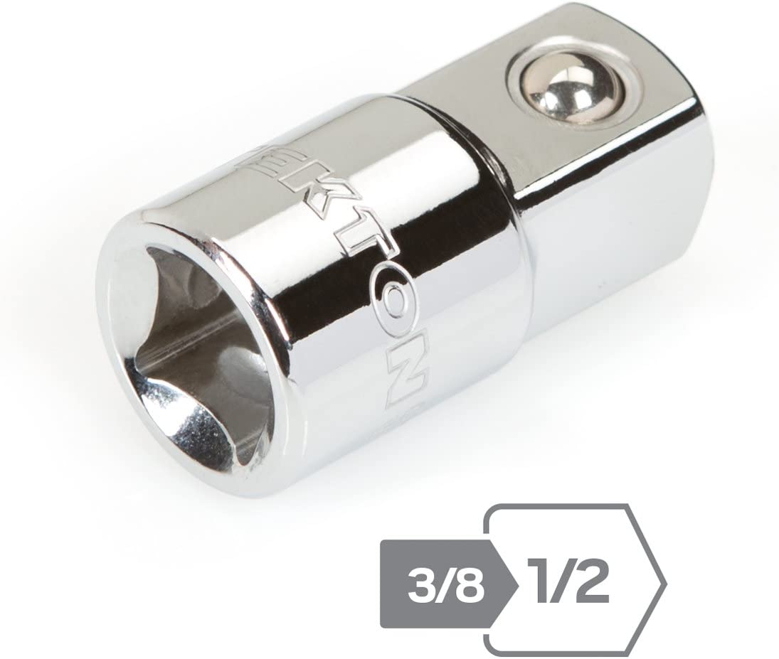 1//4 3//8 1//2 Drive Socket Adapter Converter Reducer Socket Wrench Adapter Tool BH