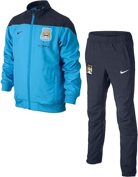 Nike - Manchester City Chandal PRESENTACION Junior CE 13/14 ...