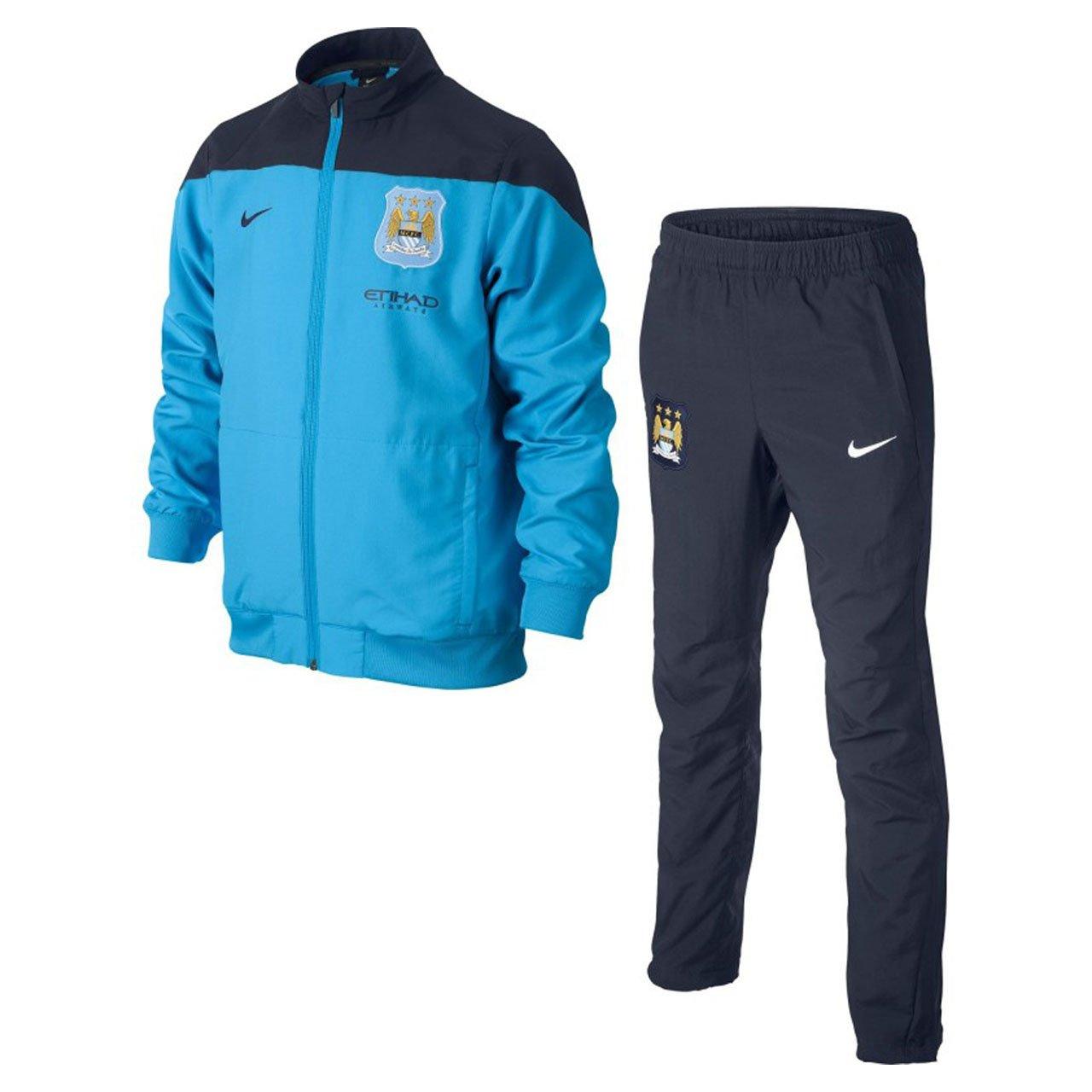 Nike - Manchester City Chandal PRESENTACION Junior CE 13/14 Hombre ...