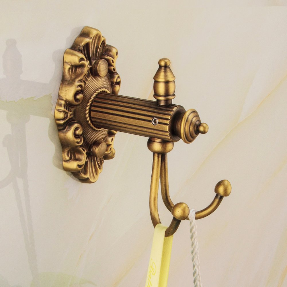 European antique hooks/coat and hat hook /Creative solid thick wall-A 50%OFF