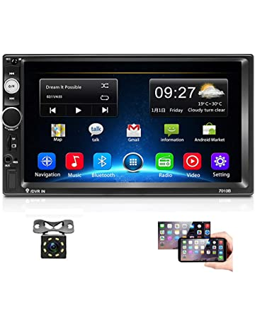 LINGJIE Auto di Navigazione GPS per Ford Transit Custom 2014 2915 2916 2017 Car Stereo Radio Play WiFi MirrorLink Video Audio RDS Octa Core Android 9.0,Mtk 1+16gb Android 9.0