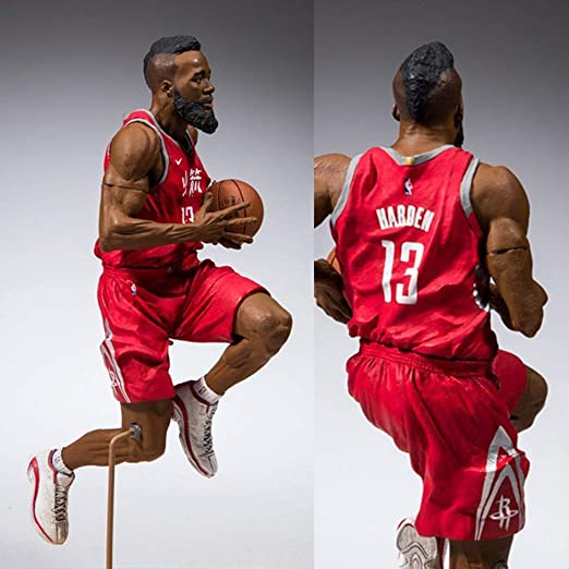McFarlane NBA 2K19 Action Figure Series 1 James Harden (Houston Rockets) 15 cm: Amazon.es: Deportes y aire libre